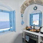 Island Blue kitchen