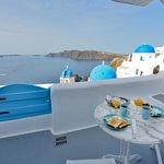 Island Blue patio