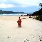Lopes Mendes! las arenas màs claras de la Ilha Grande.