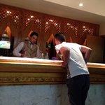 Mourad, barman in Neptune bar, fantastic lovely guy!