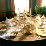 Adams House dining room
