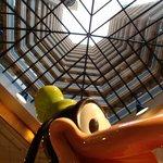 The Lobby Greeter:  Goofy