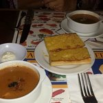 Jake's Appetizer  Clam Chowder & Lobster Bisque