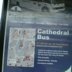 Cathedral Bus from Train Station to the Cathedral & Castle