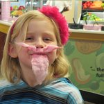 Cotton Candy Mustache & Beard