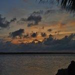 Bayside at sunset
