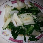 bok choy vegetables