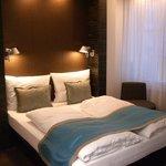 Modern, restful room