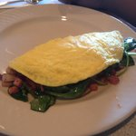 Made to order omelet