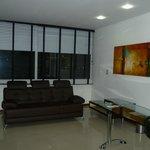Sofa Cama y Zona Social Habitación