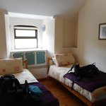 Coastguard Station - Twin Bedroom in the 3 bed appart.
