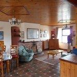 Coastguard Station - Lounge/kitchen area