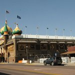 2011 photo of the Corn Palace during the day.