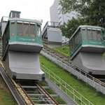 Incline train- great way to get to the falls from the hotel