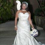 Pretty parrot, blushing bride