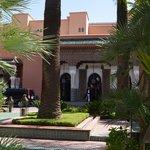 Entrada e jardins circundantes La Mamounia-Marrakech