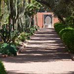 Jardins do hotel La Mamounia-Marrakech