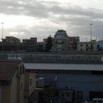 Esta es la vista desde el balcon de la habitacion