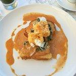 eggs benedict at chipotle!!