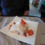 scrumptious dessert prepared by Liz