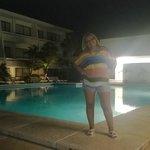 piscina frente al comedor