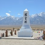 Cemetery monument created by stonemason Ryozo Kado in 1943