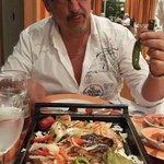 En el restaurante la hacienda