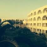 front of hotel.view from my room