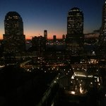 Sunset view of NYC