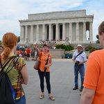 Start of Lincoln Memorial