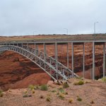 Glen Canyon Bridge from just outside the visitors center