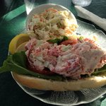 Full size Lobster Roll with Slaw
