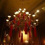Neat chandelier.