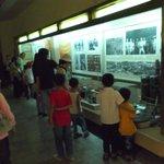 展示物…子どもが多い。こうして常日頃から歴史に関して知識を増やしていると思われます。