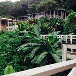 La vista desde el balconcito.