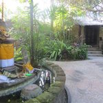 small temple in the grounds