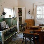 Kitchen of the Whitman house