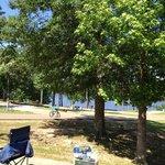 Pretty campground area
