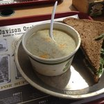 soup and sandwich special
