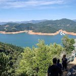 ...exit view of lake Shasta