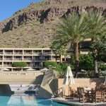 Looking towards the hotel and Camelback Mtn