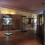 Glimpse of 2nd floor art and Ethiopian crosses