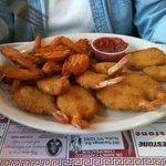 Fried Shrimp w/ sweet potato fries