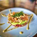 Cafe Lotus - Temple Restaurant - Ubud - Bali - Indonesia - Wandervibes - salmon