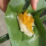 Sticky rice for a snack. Yum!