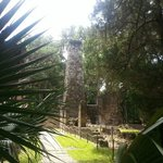 the historic sugar mill ruins