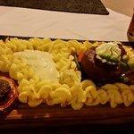 Plank Steak & Mash