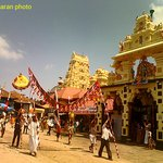 udupi krishna temple full view captured by Muralitharan
