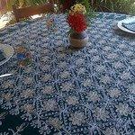Hasta el detalle en arreglar la mesa! Divina!