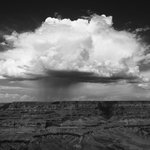 Thundercloud over Grand Canyon (another reason to stay at the Moenkopi)
